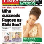 Daily Times Newspaper, Saturday, July 14, 2018