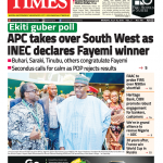Daily Times Newspaper, Monday, July 16, 2018