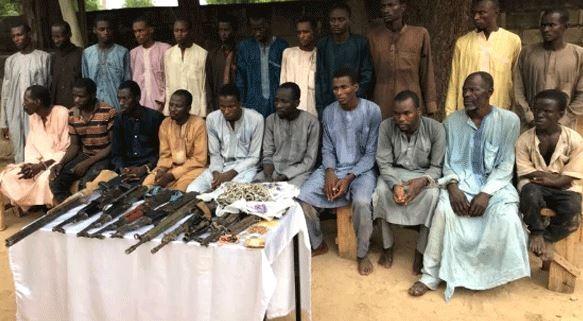 Police arrest 22 suspected Boko Haram insurgents, Chibok schoolgirls abductors
