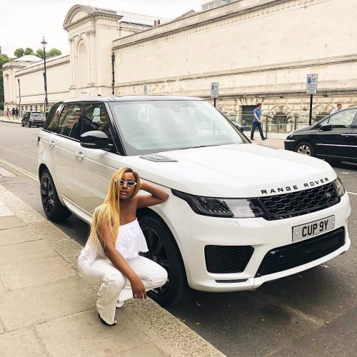 Femi Otedola gifts daughter ,DJ Cuppy with 2018 Range Rover