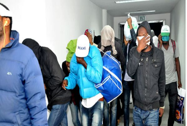 We No Fit Come Back!! 75 Nigerian Football Fans Abscond In Russia After World Cup