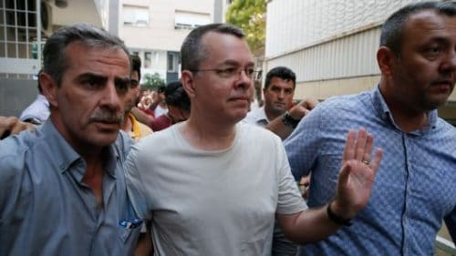 US put pressure on Turkey for pastor's release