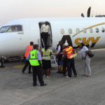 Stranded Asky passengers on rampage at Lagos airport