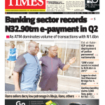 Daily Times Newspaper, Monday, August 20, 2018