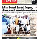 Daily Times Newspaper, Tuesday, August 21, 2018