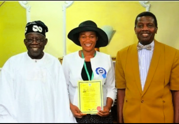 Daddy Freeze reacts to Remi Tinubu's ordination by Pastor Adeboye