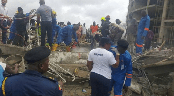 Collapsed building kills one in Abuja