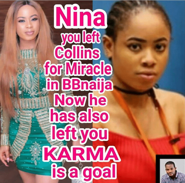 I am angry it took Miracle this long to move on – Ucghe Maduagwu