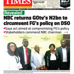 Daily Times Newspaper, Monday, September 24, 2018