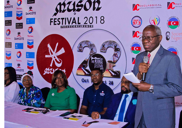 MUSON's 22nd Festival will be excitingly entertaining – Gboyega Banjo