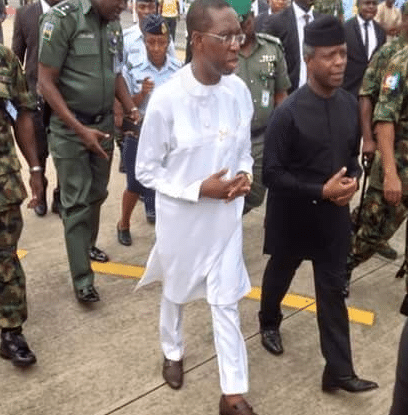 Osinbajo, Okowa inspect flood ravaged communities