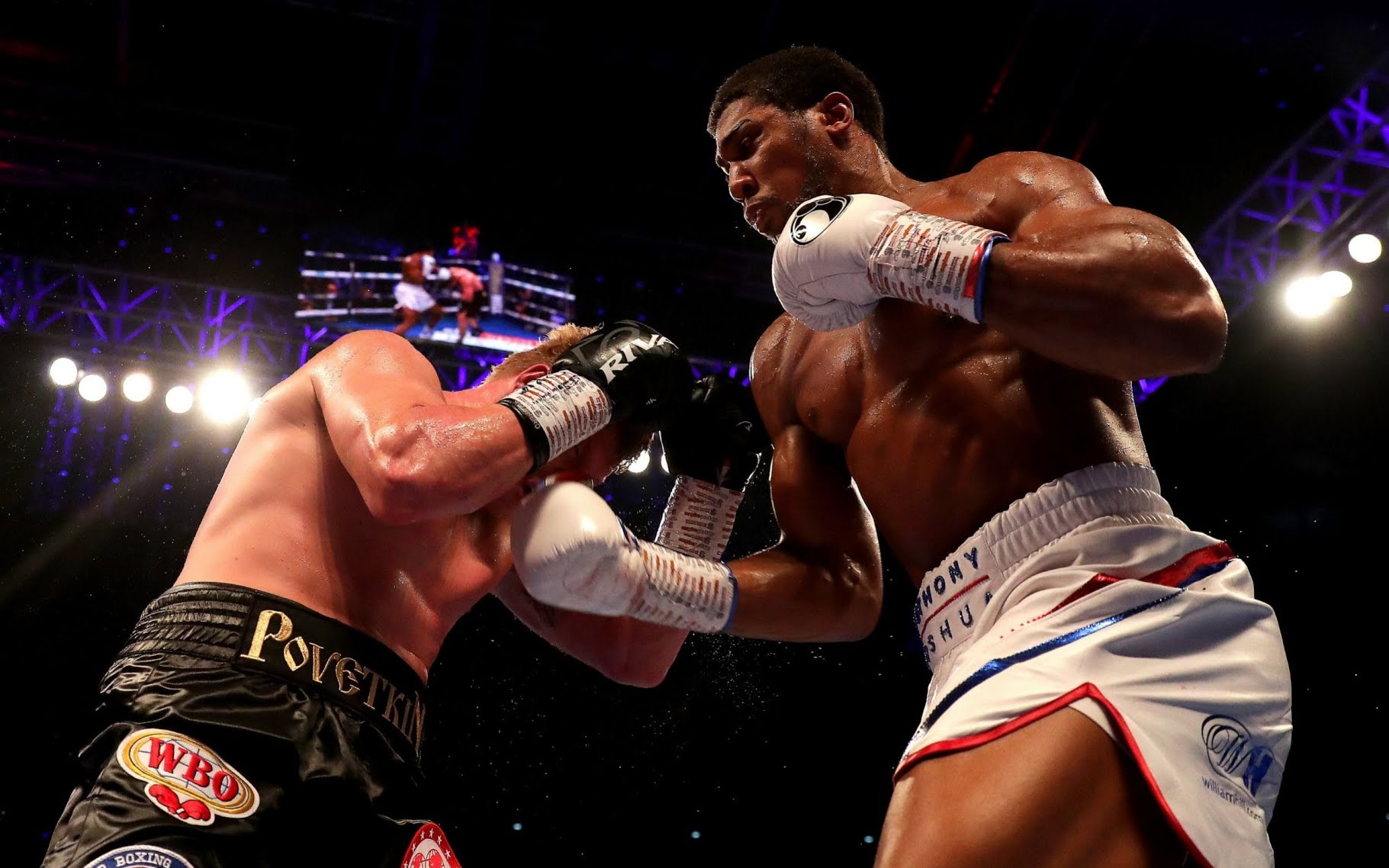 Nigerian boxer, Anthony Joshua beats Russian, Alexandre Povetkin to maintain his 22 out of 22 victories