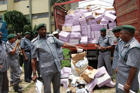 Customs seizes contraband worth N81m