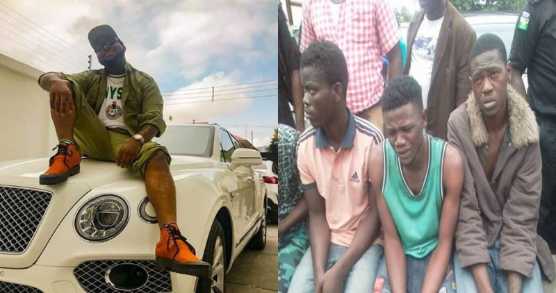 """""""I Joined Black Axe Cult Just To Meet Davido"""" – Cultist Makes Shocking Revelation"""