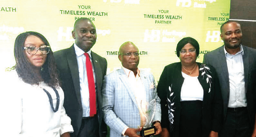 Heritage Bank wins three prestigious awards in Agric, SMEs