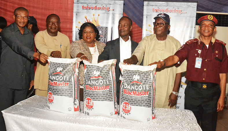 Dangote Cement raises quality bar, unveils BlocMaster