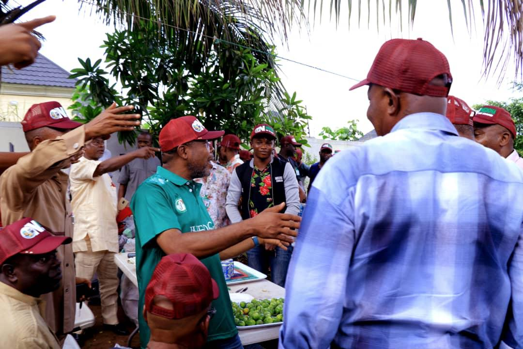 Ihedioha receives Grassroots Employers