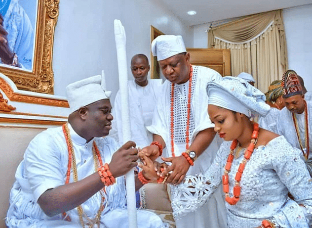 At last, Ooni of Ife unveils 25-year-old prophetess as new wife