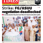 Daily Times Newspaper, Friday, November 16, 2018