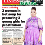 Daily Times Newspaper, Saturday, November 17, 2018