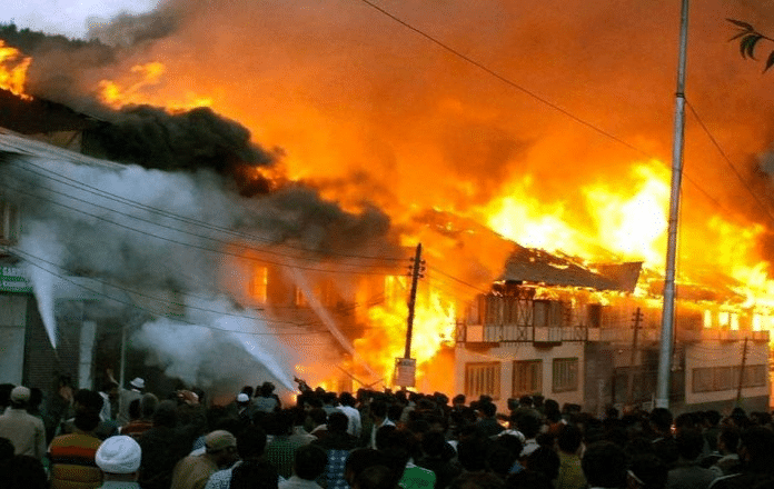 Fire Razes 6 Shops in Kebbi Central Market
