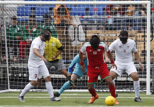 Blind national football team begins preparations for 2020 Olympics