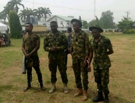 Four fake soldiers arrested in Imo State