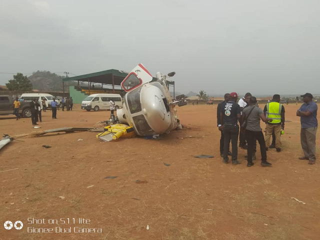 Osinbajo: AIB releases preliminary report on helicopter crash