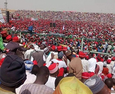 PDP Kano rally signposts end of road for Buhari