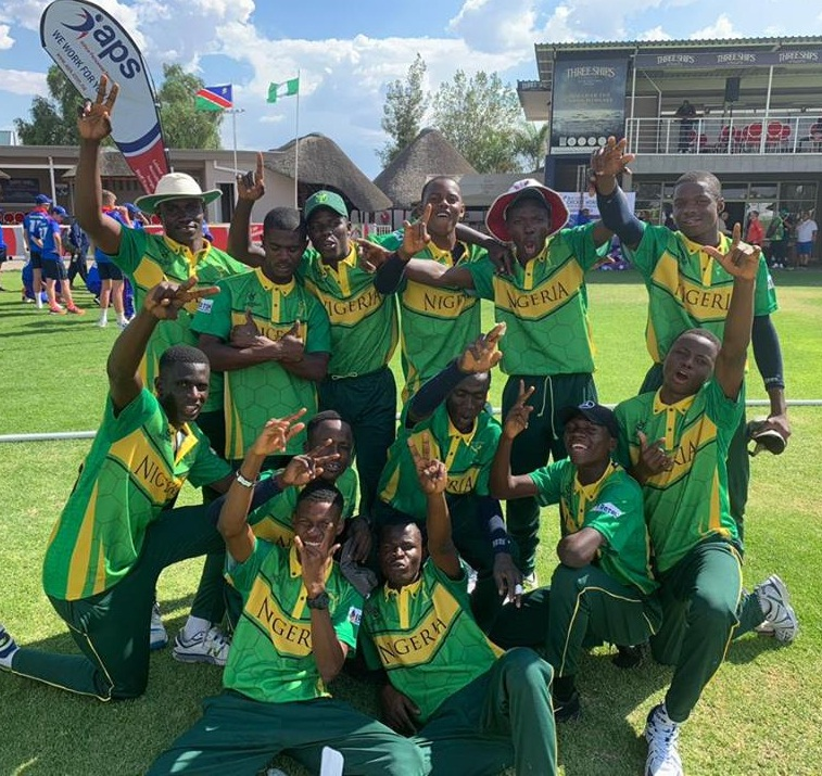 Nigeria close to U-19 world cricket cup qualifier