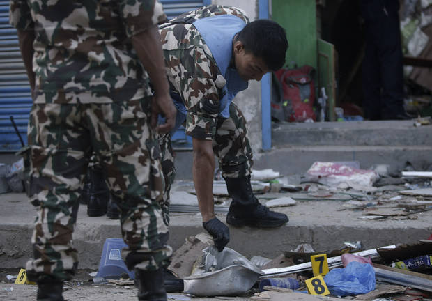 Three killed, six injured in two explosions in Nepali