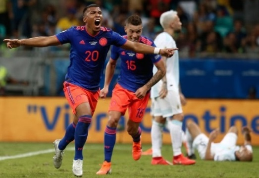 Copa America: Colombia defeat Argentina 2-0 in Group B opener