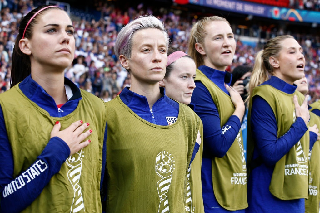 WWC: Donald Trump hits out at US star Megan Rapinoe's national anthem protest