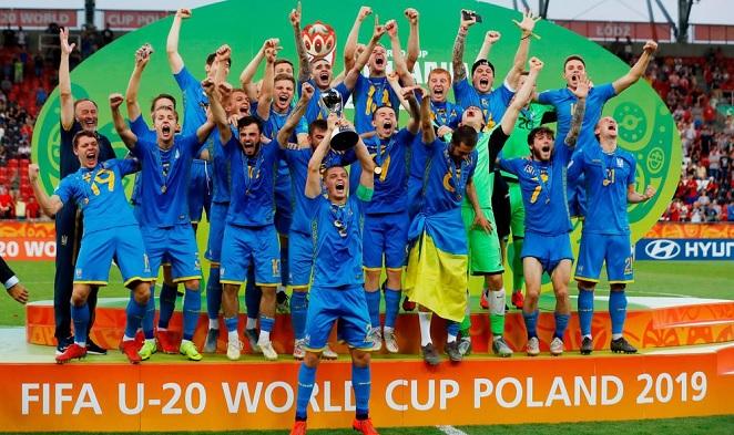 Ukraine beat Korea to win FIFA Under-20 World Cup