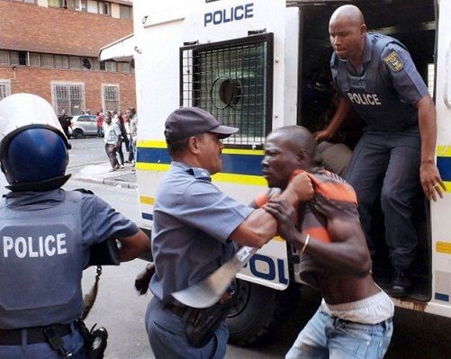 South African police allegedly tortures another Nigerian to death