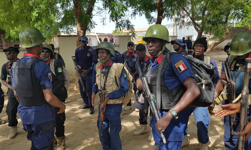Image result for NSCDC arrests members of Cybercrime Syndicate in Ondo