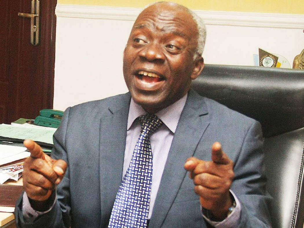 Falana slams FG over VAT increase, says it's illegal