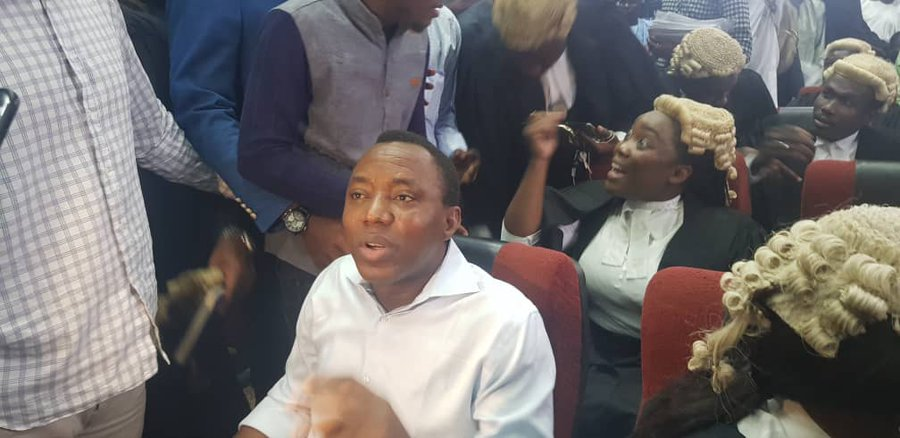 Breaking: DSS says no surety to take delivery of Sowore