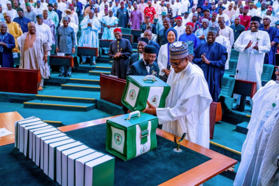 2020 budget President Buhari presenting the 2020 appropriation bill to the National Assembly