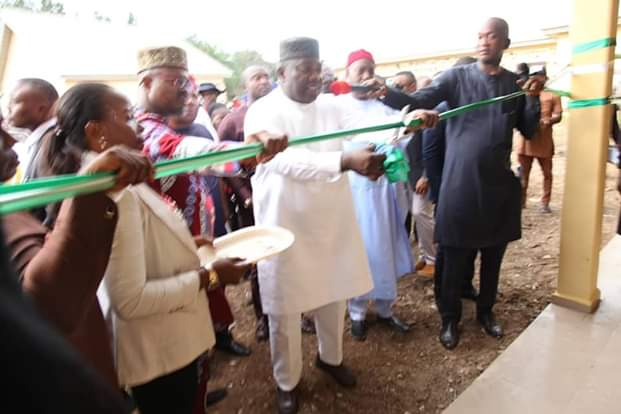 Ugwuanyi inaugurates 200-seater e-library donated to UNN by reps member