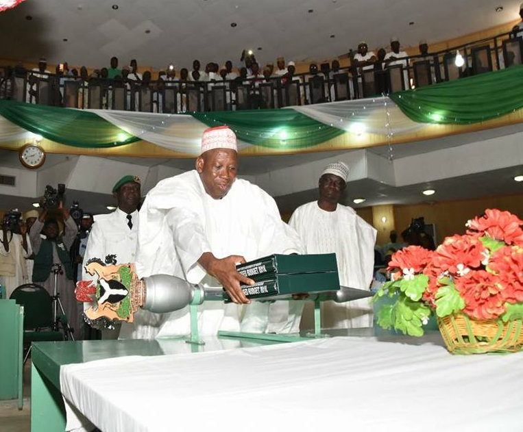 Ganduje presents N197.68bn budget to Assembly