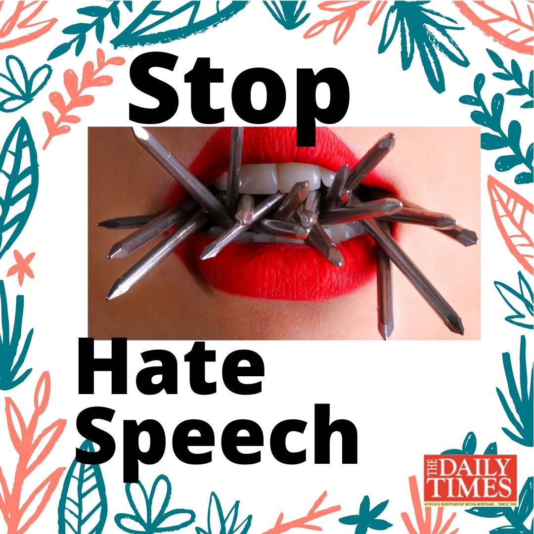 Hate speech bill Protesters