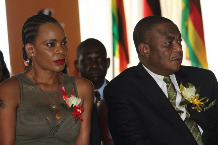 Zimbabwe VP's wife charged with his attempted murder