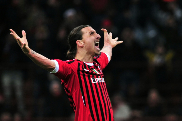 AC Milan's Ibrahimovic tests positive for COVID-19