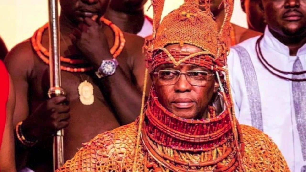 Oba of Benin drums support for NAPTIP in fight against human trafficking