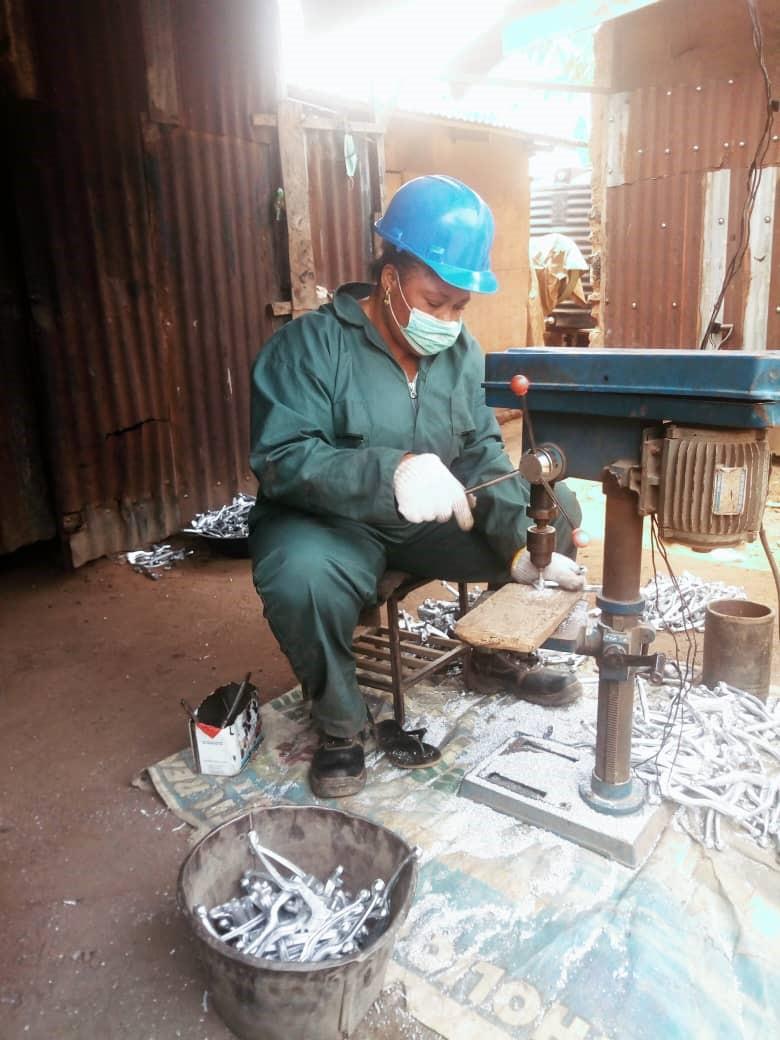 female fabricator-DailyTimes