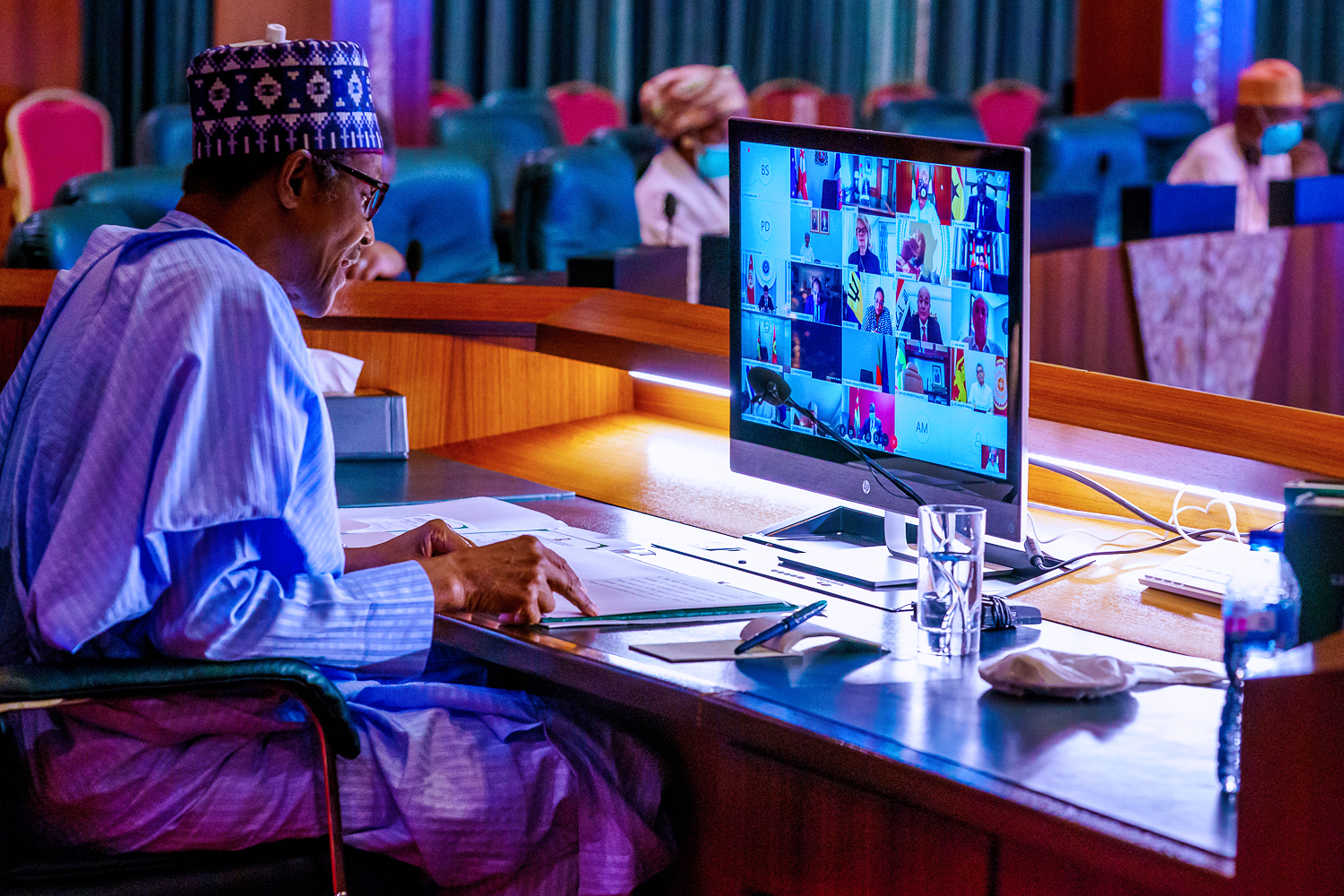 We will lift 100m Nigerians out of poverty in 10 years, Buhari tells UN