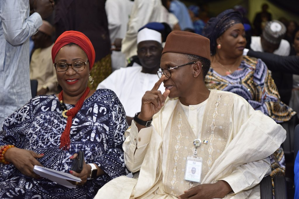 See how Governor El-Rufai educates his wife Hadiza on how to deal with twitter trolls