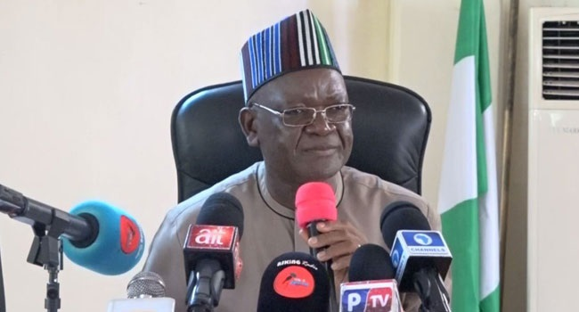 Fight against corruption in Nigeria selective, unreal - Ortom