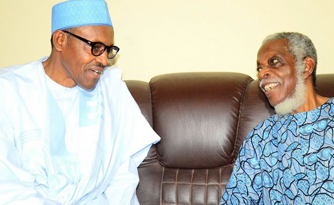 President Buhari mours Fasanmi, describes him as fearless and consistent